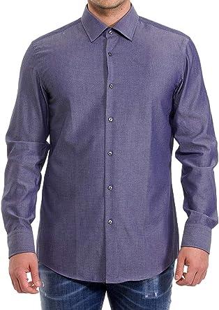 Hugo Boss 50428487 - Camisa slim fit de sarga suiza con ...