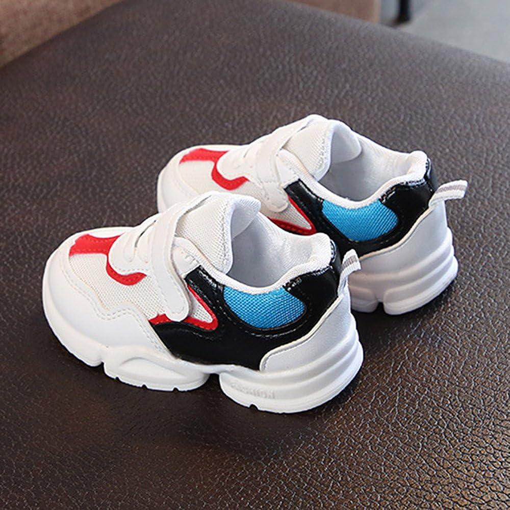 YanHoo Zapatos para niños Zapatos de Malla Transpirable para niños Zapatillas Antideslizantes de Calzado Deportivo Calzado Casual Malla de Deporte Deporte Zapatillas de Deporte: Amazon.es: Ropa y accesorios