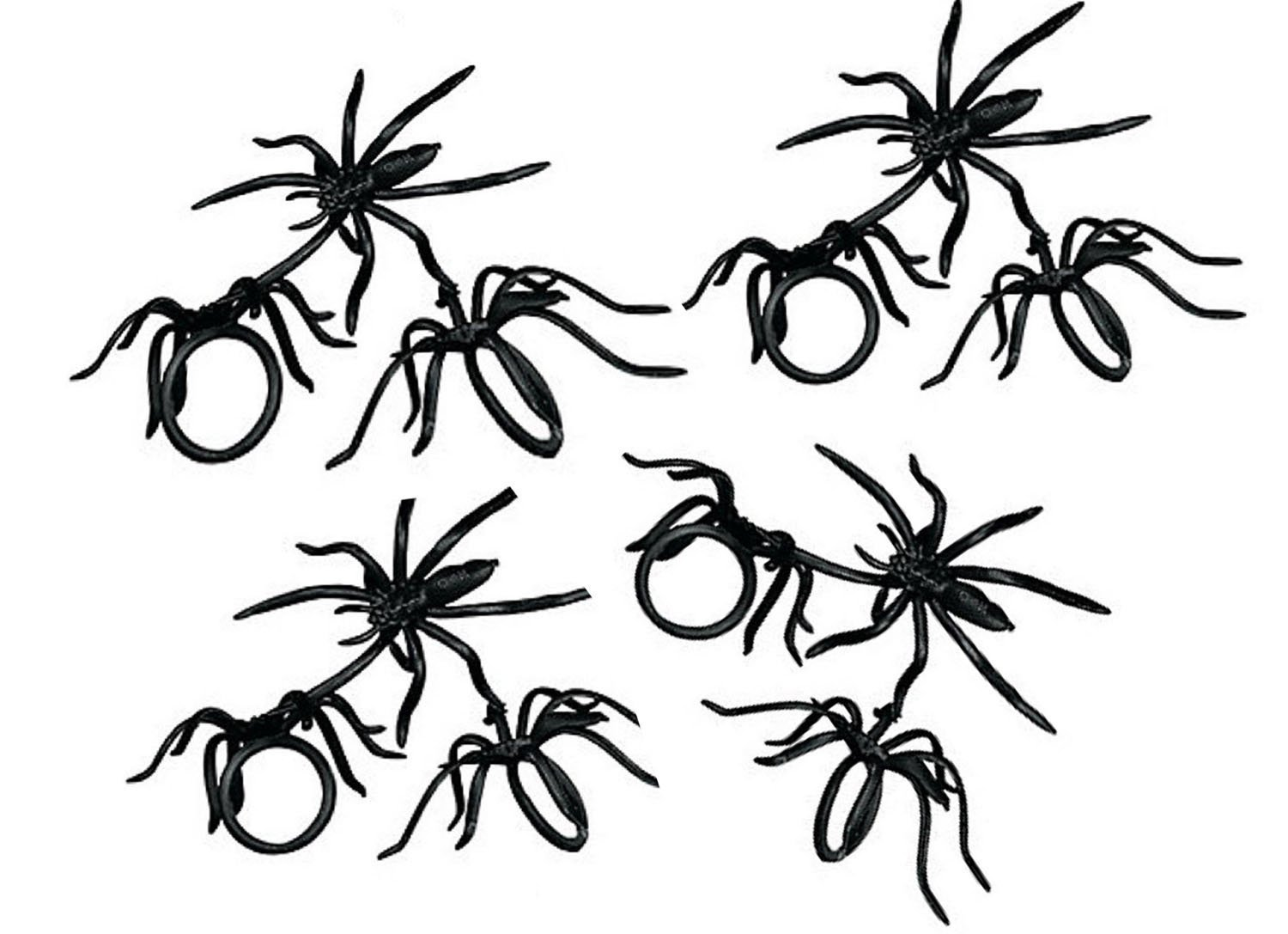 Spider Rings pack of 144