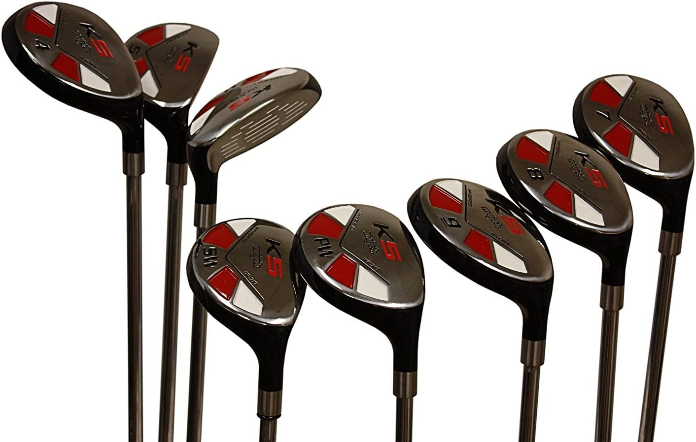 Women's Majek Golf All Ladies Hybrid Complete Full Set which Includes: #3 4 5 6 7 8 9 PW. Lady Flex Right Handed New Rescue Utility L Flex Club [並行輸入品]