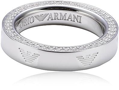 Emporio Armani Women's 925 Sterling Silver Ring 6pC1k
