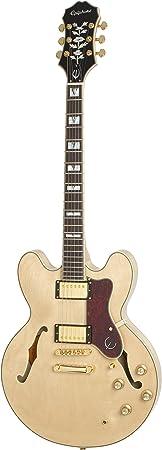 Epiphone Sheraton-II PRO - Guitarra eléctrica, color natural