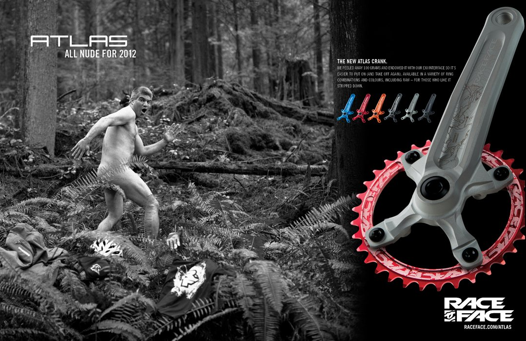 RaceFace 104mm Single Chain Ring, Red, 36T 9/10/11 Speed by RaceFace