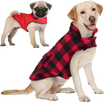 Amazon.com: Aofitee - Abrigo reversible para perro ...