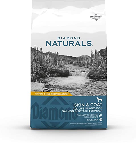 Diamond Naturals Skin Coat Real Salmon and Potato Recipe Dry Dog Food