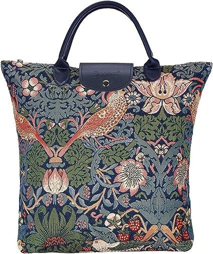 Strawberry Present Funny Tote Bag Life Shopper Shopping Reusable