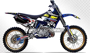 Yamaha YZ250 Front Wheel Bearings and Seals YZ 250 1996-1997