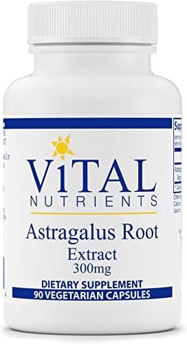 Vital Nutrients – Astragalus Root Extract – Vegan Formula – Herbal Support for The Immune System – 90 Vegetarian Capsules per Bottle – 300 mg