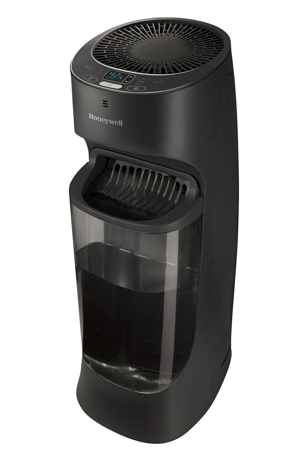 Honeywell Top Fill Digital Humidistat Tower Humidifier Black