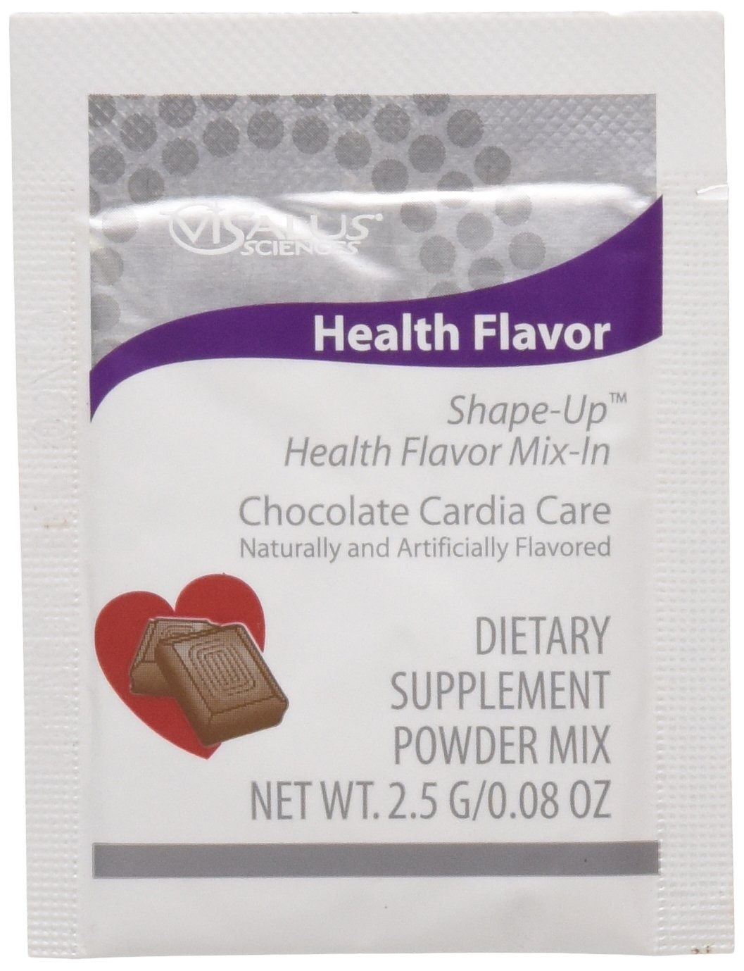 ViSalus Health Flavor Mix-In Chocolate (15 Packets)
