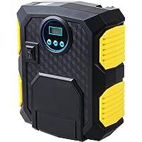 Hylan Digital Tire Inflator 12V Digital Car Tyre Inflator Electric Air Compressor Automatic Portable Pump