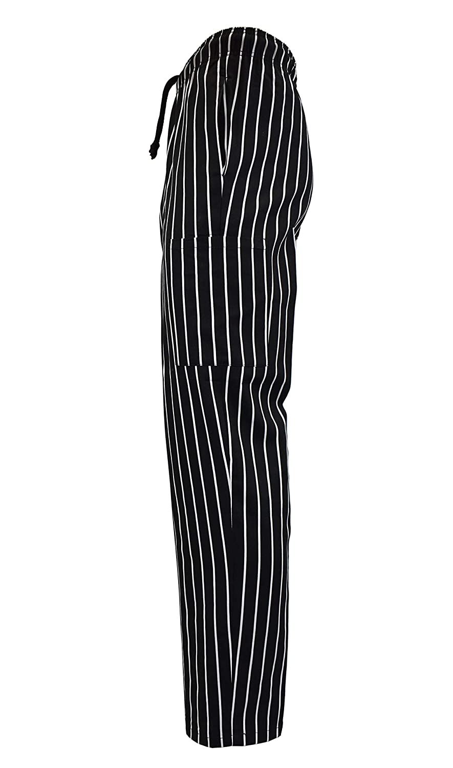 Natural Uniforms Classic 6 Pocket Chalkstripe Chef Pants with Multi-Pack Quantities Available