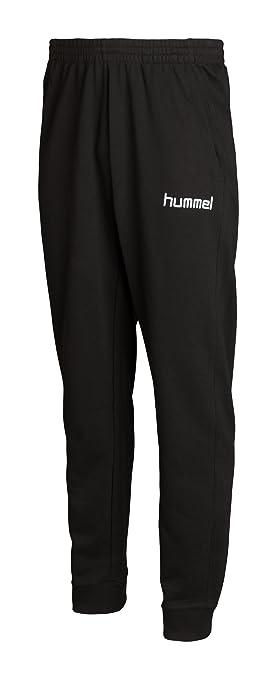 Hummel Roots Sweatpants with Elastic Cuff black Size S  Amazon.co.uk ... 64c0fa847c5