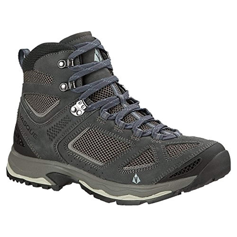 Vasque Mens Breeze III Hiking Boots /& Knit Cap Bundle
