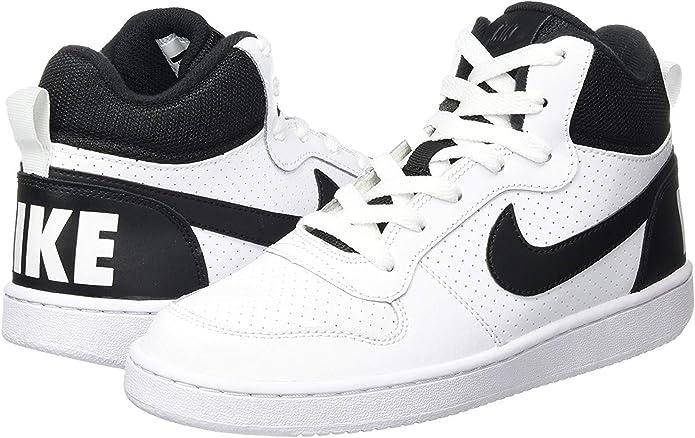 Nike Court Borough Mid GS, Zapatillas de Baloncesto Unisex Niños ...