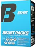 Beast Sports Nutrition – Beast Packs – All-in-One Daily Multivitamin Performance Pack – Joint Complex – Fish Oil – Improves Overall Well-Being – Promotes Healthy Immune System – 30 Servings
