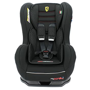 Car Seat With Isofix Ferrari From 9 To 18 Kg With Side Protector Construction 100 French 3 Stars Cale Head And Upholstered Seat Tcs 4 Colours Black Amazon De Baby