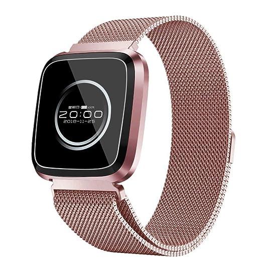 POJIETT Pulsera Actividad Inteligente Presion Arterial GPS Hombre Mujer Reloj Deportivo Smartwatch Fitness Tracker IP68 Impermeable Monitor de Ritmo ...
