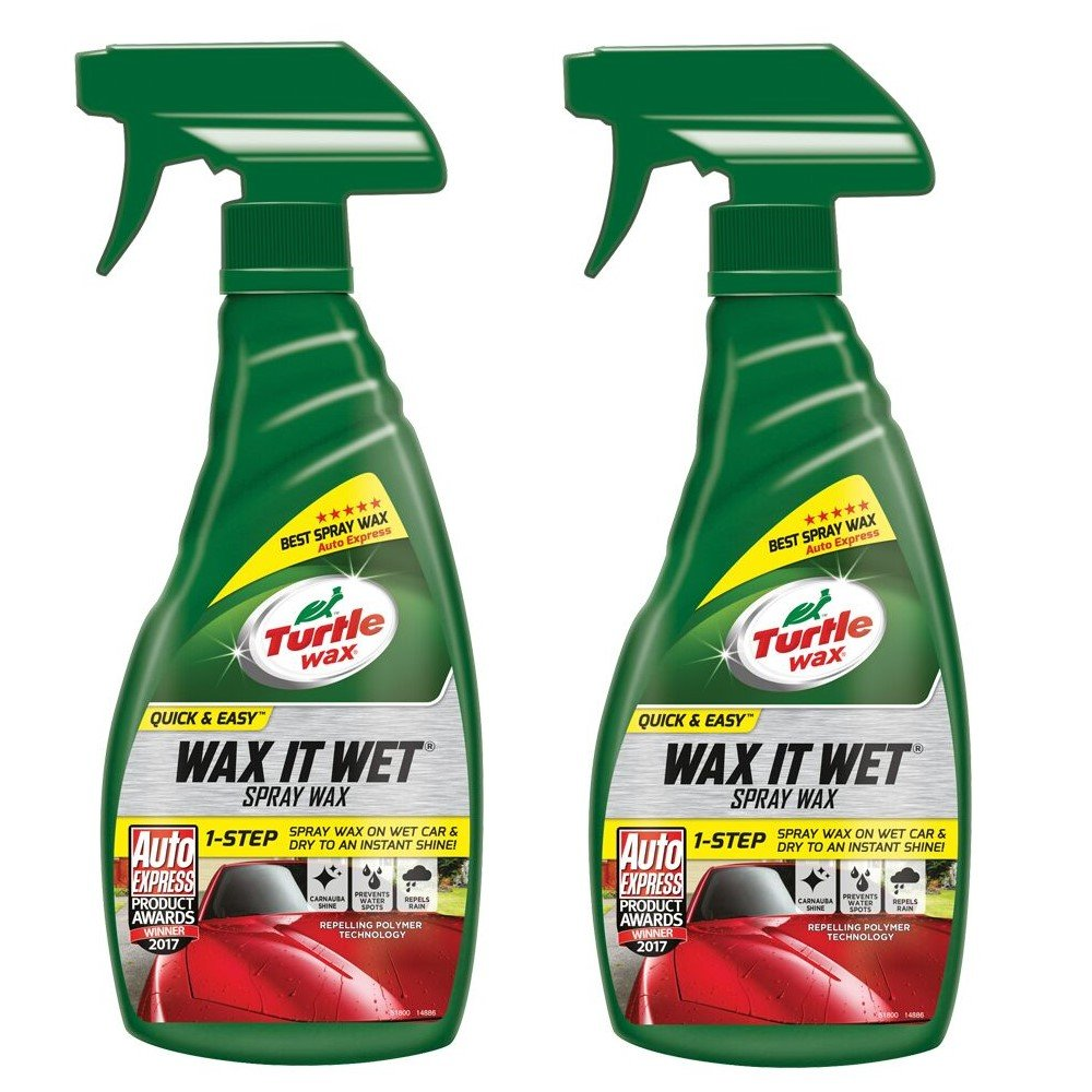 Turtle Wax 51800 Wax It Wet Car Spray Wax Cleaning Protection and Instant Shine (2)