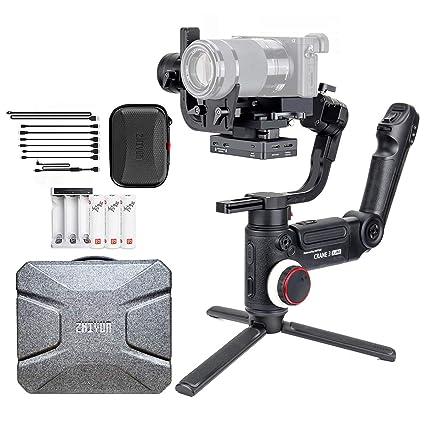 Zhiyun Crane 3 Lab 3-Aixs estabilizador de cardán para cámaras de ...