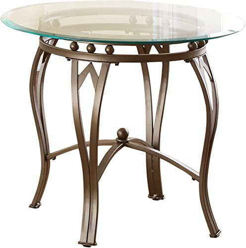 Steve Silver Company Madrid End Table, 26 x 26 x 22