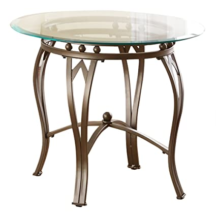 Steve Silver Company Madrid End Table, 26u0026quot; ...