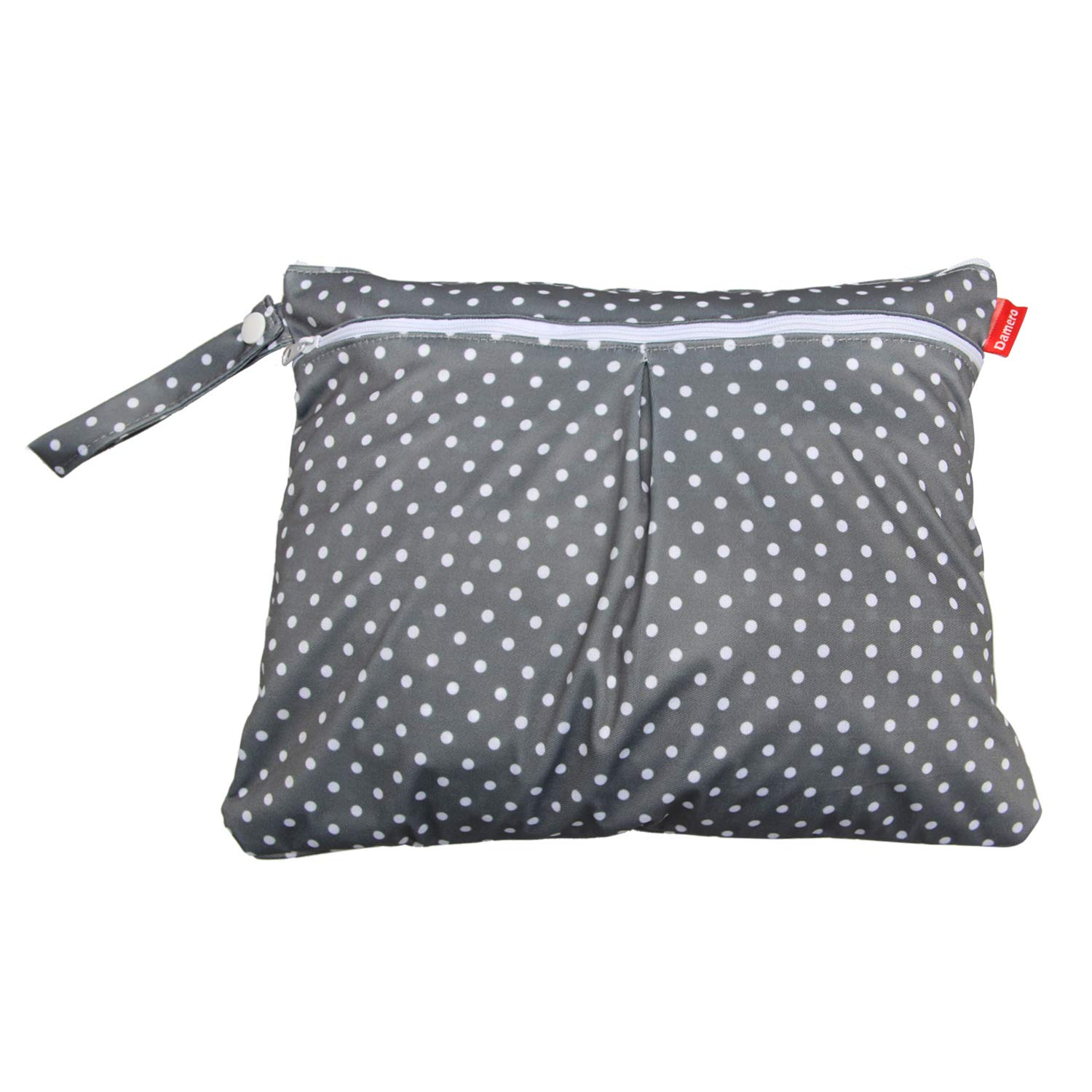 Travel Wet and Dry Bag with Handle for Cloth Diaper Swimsuit and More Clothes Reusable and Water-resistant Medium,Summer style Pumping Parts Damero Cloth Diaper Wet Dry Bags