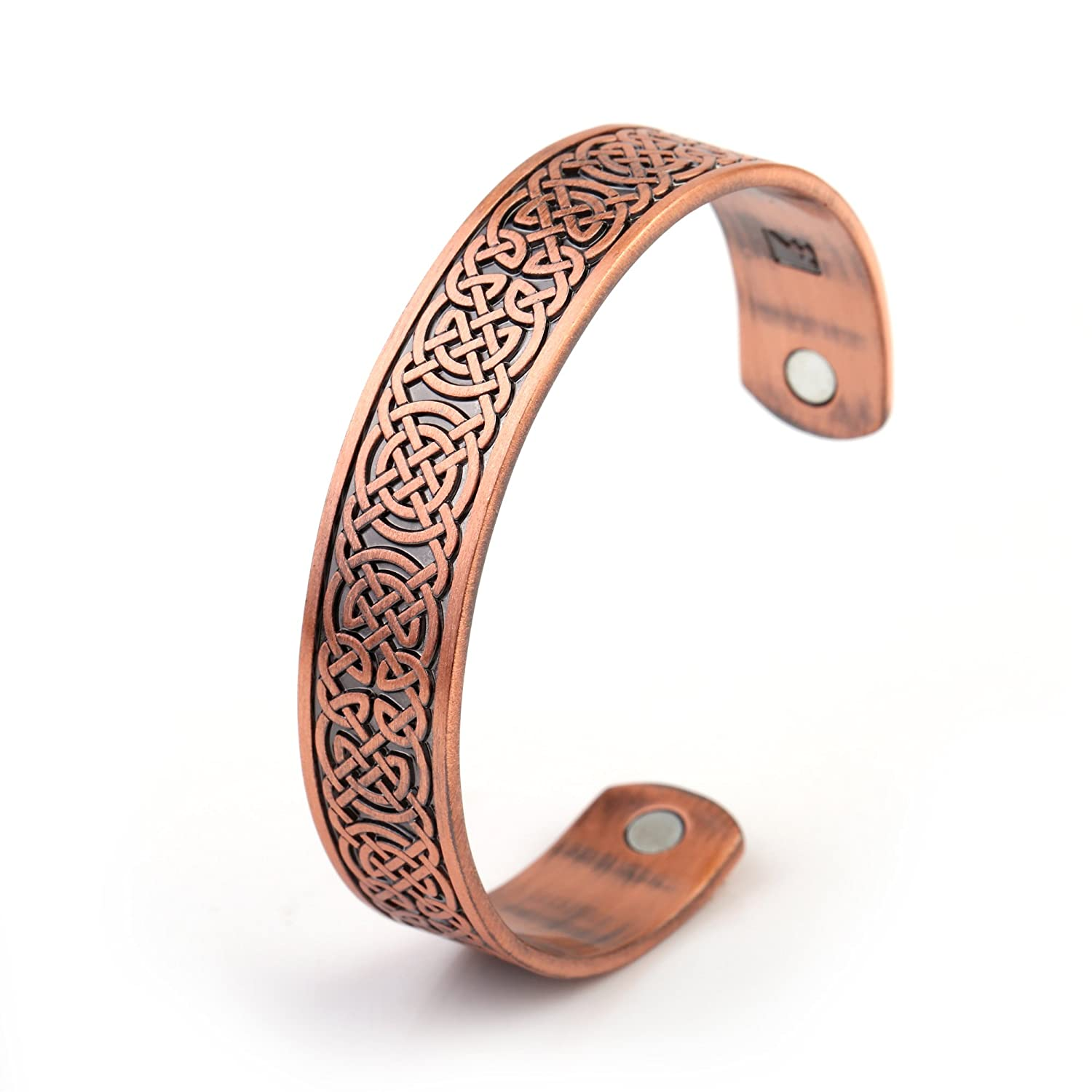 Fashion Health Care Irish Knot Men Magnetic Bracelet Women Cuff Bangle YI WU KE JI YW-B109566