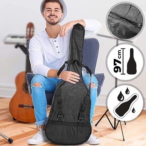 Vor Funda de guitarra clásica y acústica - Tamaño 97 cm, con ...