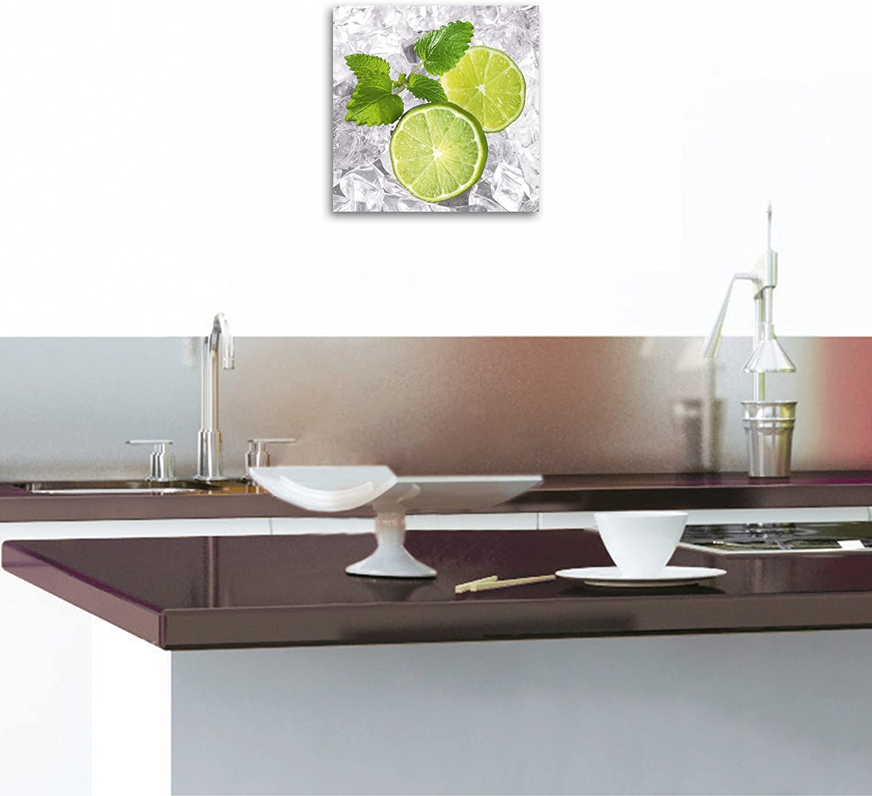 Eurographics DG-DT20 Deco Glass - Impresión de Limones en Hielo