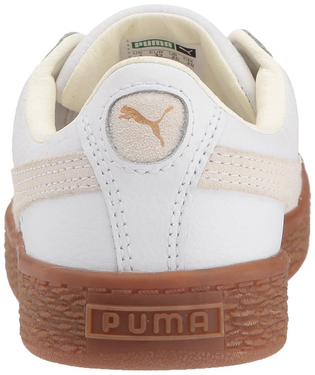 PUMA Kids Basket Classic Gum Deluxe Sneaker