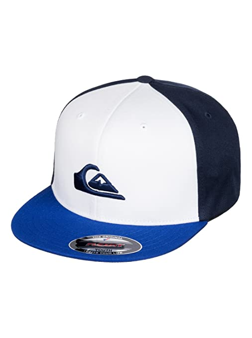 c087d284300d1 ... best price quiksilver boys stuckles flexfit cap flexfit hat blue one  size d3dfd 7067b
