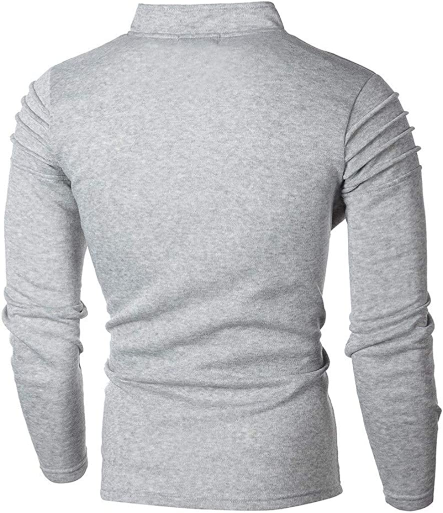 Beautyfine Mens Sweatshirt Tracksuit Suit Autumn Solid Zipper Sports Top Pants Sets
