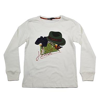 Silvian Heach Kids Bébé Manches Longues T-Shirt PAPERENE RJJI3072TS Graphic  Tee 8-Years 4471b9d7e3a
