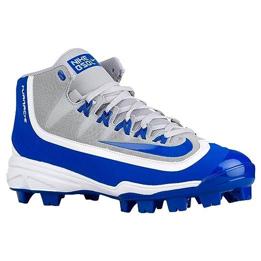 Nike Huarache 2KFilth Men's Pro Baseball Cleat (14, Wolf Grey/White/Game