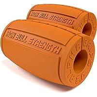 Alpha Grips 3.0 - 1 Paire - Design Ergonomique - Prise Épaisse pour Barres et Haltères, Augmente la Force de Préhension et des Avant-Bras, Fitness Grips, Fat Bar, Appareil d'exercice pour les mains et les doigts