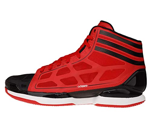 a46e74df9caf Adidas Adizero Crazy Light Red Black Derrick Rose Bulls Basketball Shoes  G23671  US Size 13