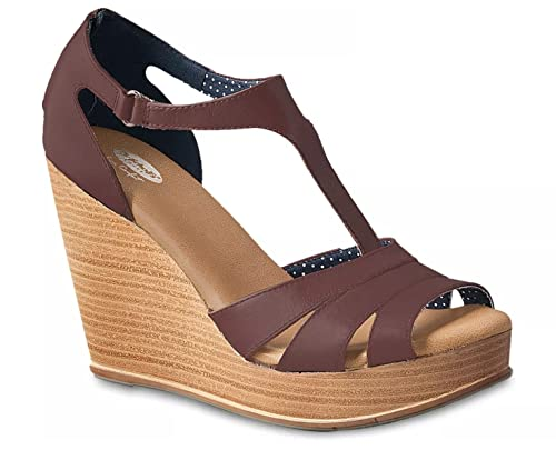 Alto Marrón De Sandalia Shoes Tacón Para Scholls Mujer Dr CqwaXPW