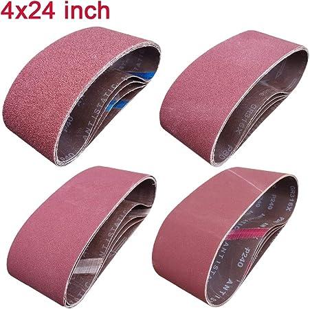 10  3 x 24 Sanding Belt 80 Sander Abrasive I have 1 set of 80