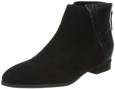 Nine West Women's Orion Suede Boot,Black/Black,5.5 ...