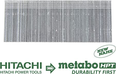 NT1850DE Brad Nailers Electro-Galvanized 1000-Pack Fits Hitachi Power Tools//Metabo HPT NT50AE2 3//4-Inch x 18-Gauge Metabo HPT 24101THPT Brad Nails