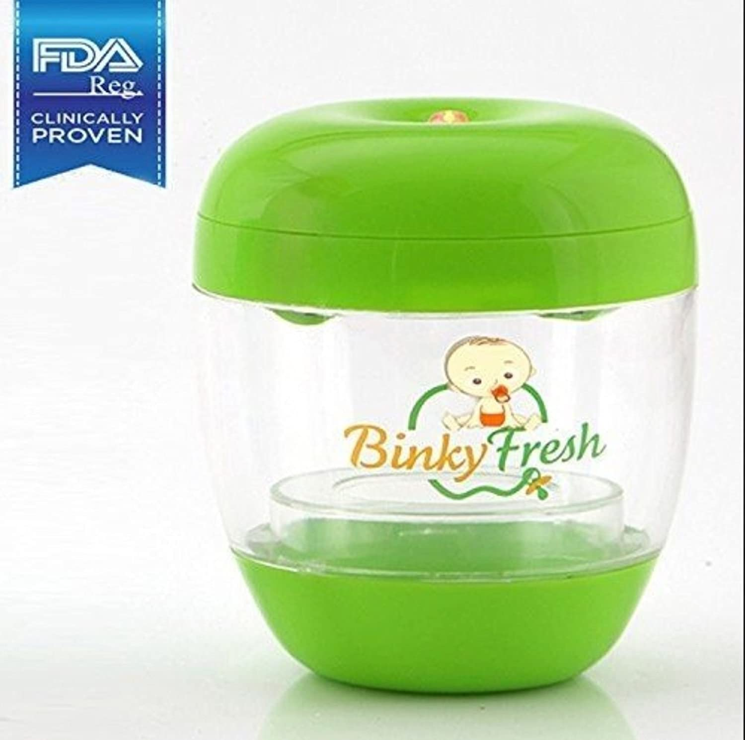 Binky Fresh™ UV Pacifier and Baby Bottle Sanitizer- Green 3B Global