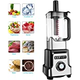 OUTAD Professional Blender 30000RPM High Rotation Speed Mixer Nutrition Food Processor for Smoothies Ice Fruit Vegetable Mayonnaise( 64oz, 1400W, 6Pcs Blades, 10 Speed Settings)