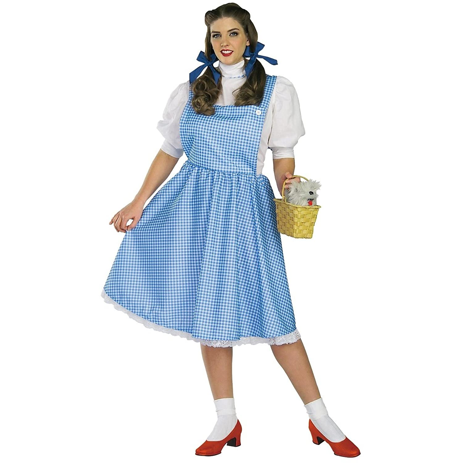sc 1 st  Amazon.com & Amazon.com: Dorothy Costume - Plus Size - Dress Size 16-22: Clothing