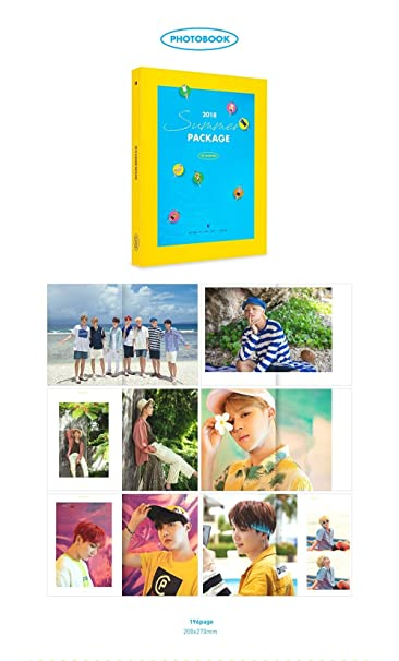 BigHit BTS - 2018 BTS SUMMER PACKAGE VOL 4 [White ver ] Photobook+Making  DVD+7 Mini Posters(On Pack)