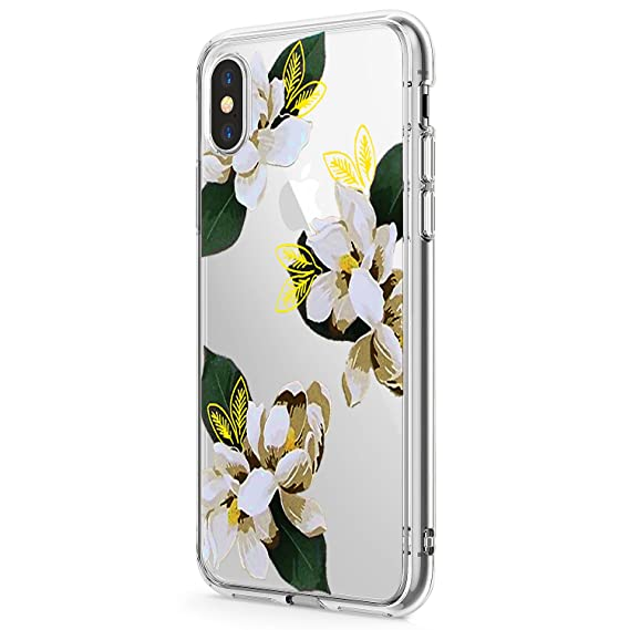 6f92bf3fd0d Amazon.com  Floral for iPhone X XS XS MAX Case Flowers
