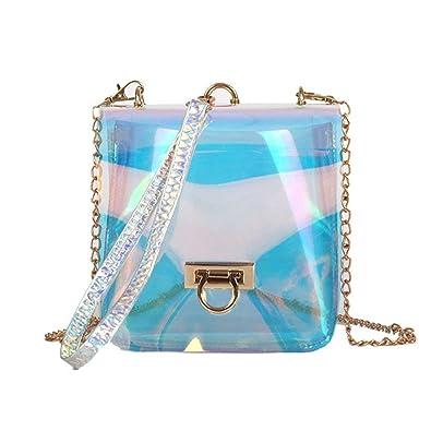 revendeur 45368 93156 Amazon.com: Rising ON Summer Holographic Shoulder Bag ...