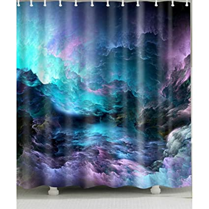 Amazon Sky Cloud Shower Curtain 1 Pc For Home And Bath