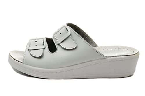 Dr Punto Rosso Medical Comfort 400SB Sandali Zoccoli Sabot Pantofole Scarpe  Pelle Donna  Amazon.it  Scarpe e borse 8b2ef9ac758