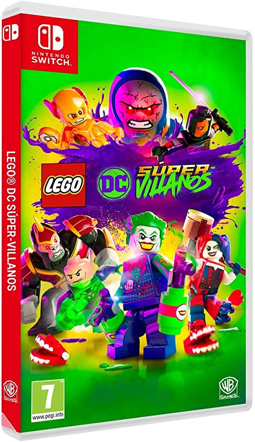 Lego DC Super-Villanos Nintendo Switch, Edición Exclusiva Amazon ...